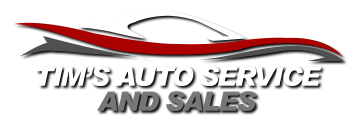 Tim's Auto Service and Sales Logo