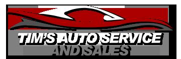 Tim's Auto Service and Sales Logo