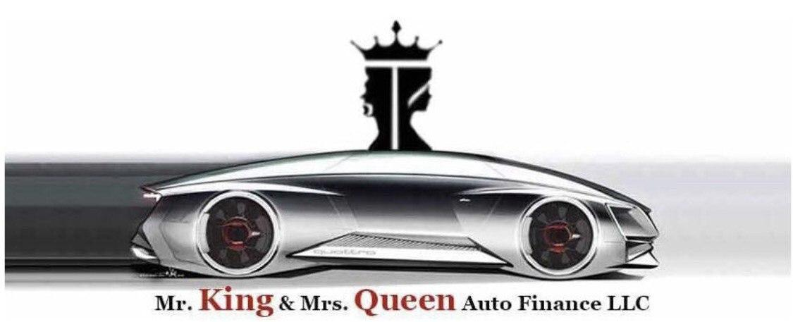Mr. King and Mrs. Queens Auto Finance LLC Logo