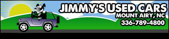Jimmy's Used Cars Logo