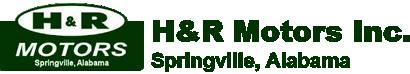H & R Motors Inc. Logo