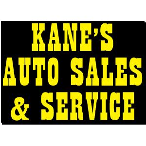 Kane's Auto Sales & Service Logo
