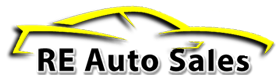 RE Auto Sales  Logo
