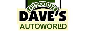 Discount Dave's Autoworld Logo