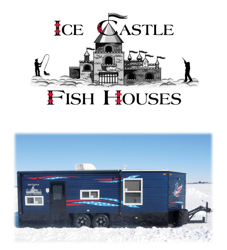 Ice Castle Fish Houses logo | Ice Castle Fish Houses Forest Lake, MN | Fish Houses 55025