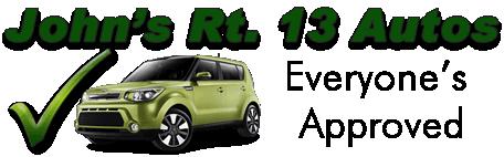 John's Rt. 13 Auto Sales Logo
