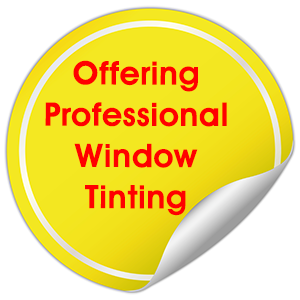 We Offer Professional Window Tinting