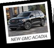 New GMC Acadia