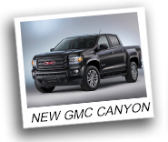 New GMC Canyon