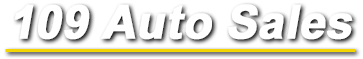 109 Auto Sales  Logo