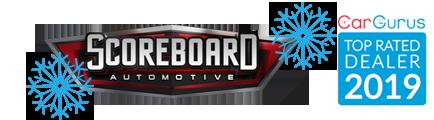 Scoreboard Automotive Sales and Leasing Logo