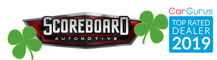 Scoreboard Automotive Sales and Leasing Logo