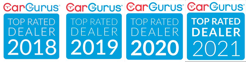 Car Gurus Top Rated Dealer - 2018 & 2019