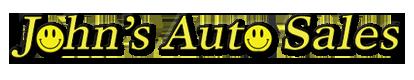 John's Auto Sales Logo