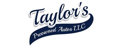 Taylor's Pre Owned Autos LLC Logo