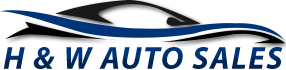 H and W Auto Sales Logo