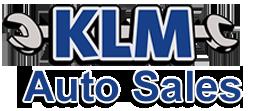 KLM Auto Sales Logo