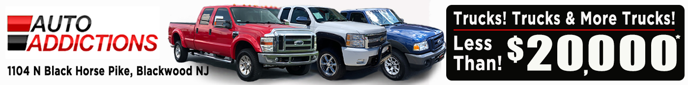 Trucks for Sale in New Jersey