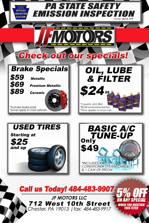 car service flyer