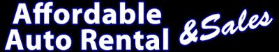 Affordable Auto Rental & Sales 1 Logo