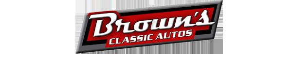 Brown's Classic Autos Logo