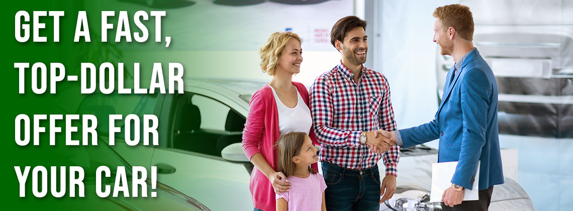 Get a fast, top-dollar offer for your car