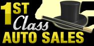 1st Class Auto Sales Logo
