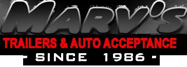 Marv's Trailers & Auto Acceptance  Logo