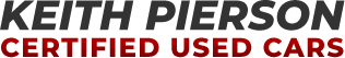 Keith Pierson Certified Used Cars Logo