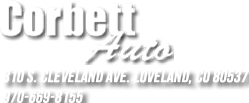 Corbett Auto Brokers Inc. Logo