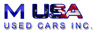 M USA Used Cars Inc. Logo