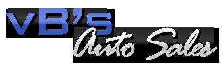 vB's Auto Sales Logo