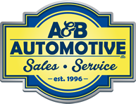 A and B Automotive LLC Logo