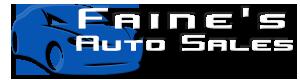 Faine's Auto Sales Logo
