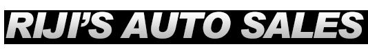 Riji's Auto Sales Logo