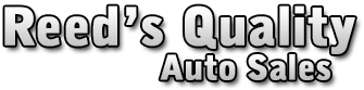 Reed's Quality Auto Sales Logo