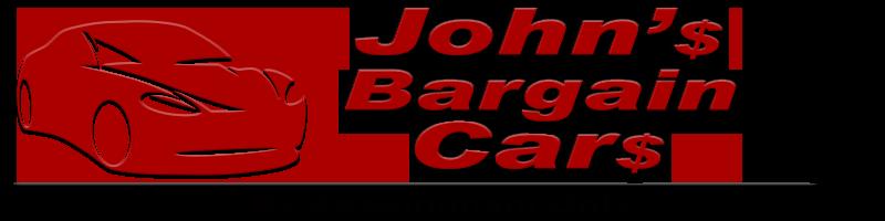 John's Bargain Cars Logo