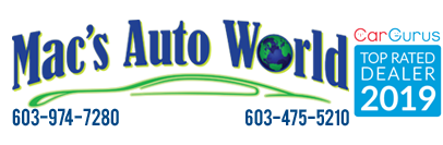 Mac's Auto World Logo