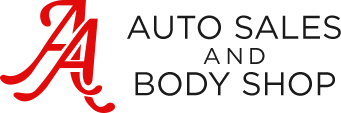 AA Auto Sales & Body Shop Logo
