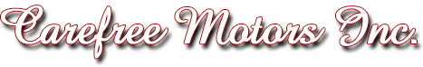 Carefree Motors Inc. Logo