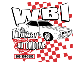 WBI Midway Automotive Logo