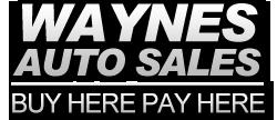 Waynes Auto Sales Logo