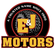 E and J Motors Logo