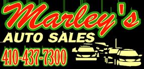 Marley's Auto Sales Logo