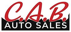 C.A.B. Auto Sales Logo