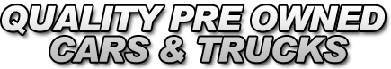 Quality Pre Owned Cars & Trucks Logo