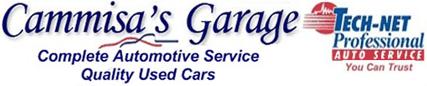 Cammisa's Garage Logo