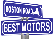 Boston RD. Best Motors Logo