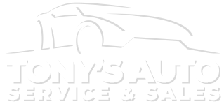 Tony's Auto Service and Sales  Logo