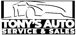 Tony's Auto Service and Sales  Logo